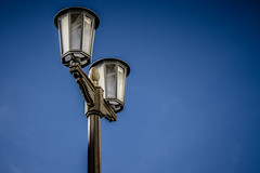 Street Lights of Berlin (matthiaslewin) Tags: berlin frankfurter tor strassenlaterne street light friedrichshain