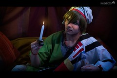 9 (haine.otomiya) Tags: makoto free arabian arabic candle night light cold tent cosplay cosplayer anime manga