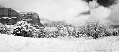 Winter Wonderland (stillnessinlife) Tags: az arizona bellrock cathedralrock cold courthousebutte creek jerome oakcreekcanyon oakcreekvalley sedona snow water weather