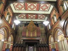 UK - London - Open House London 2016 - King's College Chapel - Organ (JulesFoto) Tags: uk england london kingscollegechapel aldwych georgegilbertscott interior