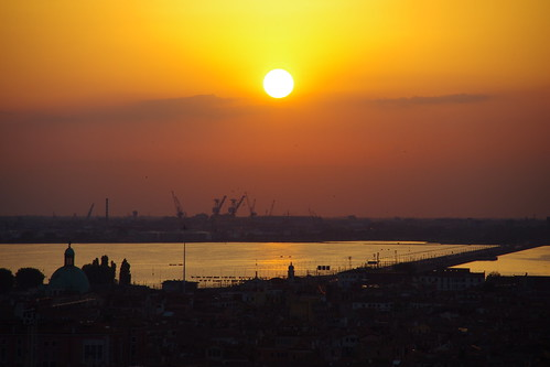 Sunset: Venice and beyond