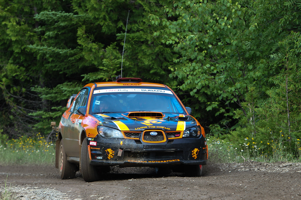 Crazy Leo - Rallye Baie-des-chaleurs 2012