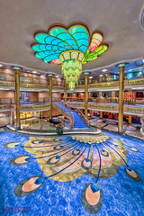 "Disney Fantasy - Lobby Atrium from Deck 4 • <a style=""font-size:0.8em;"" href=""http://www.flickr.com/photos/8980678@N03/7527734098/"" target=""_blank"">View on Flickr</a>"