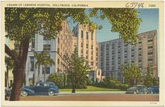 Cedars of Lebanon Hospital, Hollywood, C by Boston Public Library, on Flickr