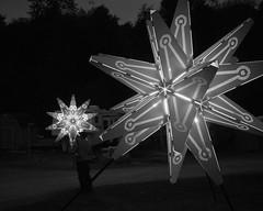 P1030473-2 (remash~) Tags: lighting city sculpture man black art rock burningman blackrockcity burning massive installation orion critical icosahedron constellation 2012 starlight