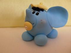 Lembrancinha de elefantinho (ines.sebastiana@hotmail.com) Tags: coelhinha