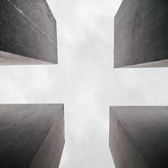 (Maggie J Lee) Tags: germany berlin europe travel architecture nikon d90 tokina 1116mm wideangle designher memorialtomurderedjewsofeurope holocaustmemorial petereisenman concrete pillars
