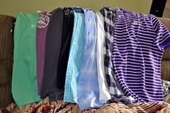 New Shirts (Tobyotter) Tags: shirts newclothes kohls