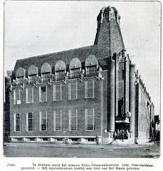 arnhem nw telegraafkantoor 1922 (janwillemsen) Tags: arnhem magazineillustration crouwel velperplein telegraafkantoor deprins 19221923
