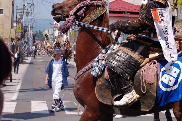 相馬野馬追:御発輦祭・出陣式・宇多郷行列・宵乗競馬