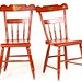 121. Pair of Painted Chairs