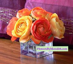 Flowers By Meredith silk flowers