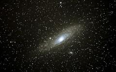 Andromeda Galaxy M31 and M32 (jccjmurphy) Tags: door barn andromeda galaxy astrophotography m31 tracker m32 Astrometrydotnet:status=solved Astrometrydotnet:version=14400 Astrometrydotnet:id=alpha20120888048066