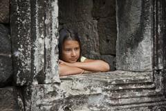 Angkor Wat & Bayon (ND Strupler) Tags: life city sky history face smiling stone ancient asia cambodia faces phnompenh siemreap angkor wat tempel bayon shianoukville