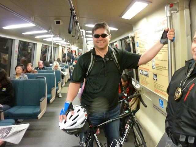 Bikes on Bart Pilot Aug. 3, 2012