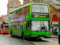 W652SNN 652 nottingham city transport (martin 65) Tags: city nottingham bus buses rally group 652