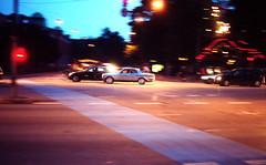 Experimental Half-light (Bas Tempelman) Tags: road street light car speed lights tivoli exposure experimental traffic time dusk owl gloom gloaming reeling wavering halflight