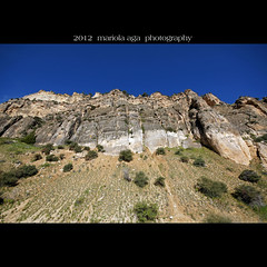 Ten Sleep Canyon ... Would you like to climb!? (mariola aga ~ non-professional member) Tags: cliff square wideangle canyon gorge wyoming slope thegalaxy tensleepcanyon