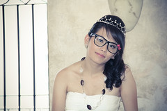 Quinceanera session-46 (Fearless Wedding Photography) Tags: birthday pink roof girl sunglasses lady youth ramp chica dress balcony young 15 teen hispanic latina diva quinceanera