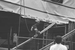 Boston MA 7-30-2012 (jimboyle93) Tags: blue hairy man men boston construction muscle muscular massachusetts worker collar scruffy