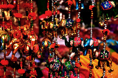 A Riot of Colors (@mons.always) Tags: colors nikon delhi elephants dillihaat d90