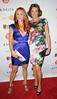 Sonja Morgan and Countess LuAnn de Lesseps, at the 2012 GLAAD Manhattan Summer Event. New York City, USA