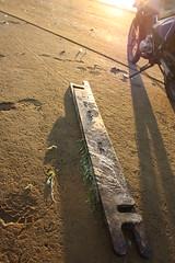 Vlieland - zuidkant Vliehors - deel vistuig WR-41 (Dirk Bruin) Tags: vlieland noordzee beachcombing strandjutten jutter vondst jutterij strandvondst
