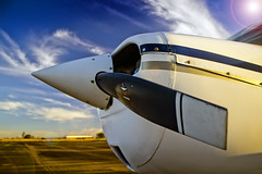 EAPA (Thoms) Tags: brazil sky brasil canon airplane aviation cu escola alegre common creatives pilot aviao aeronautics t3i hlice piloto pouso eapa pilotagem