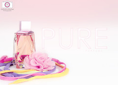 Pure perfume ..  +1 in comment (Zahraa Maher ) Tags: pink flowers amanda flower color colors rose canon photography rainbow model perfume sister d tiger some madness 600 1855mm rainbows pure  maher  zahra ehsan     600d       my zahraa                  alnemer