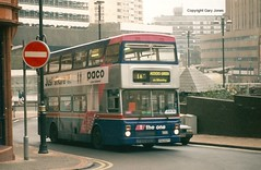 2607 POG 607Y Route 1 (onthebeast) Tags: travel west green buses 1 route service mk midlands metrobus mcw i wmt acocks