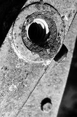 (Damien Cox) Tags: uk blackandwhite bw metal mono nikon rust grayscale damiencox dcoxphotographycom