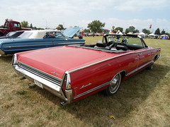 1968 Meteor Montcalm Convertible rear (dave_7) Tags: red classic car market convertible canadian meteor montcalm
