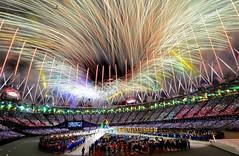 London 2012 Closing Ceremony Fireworks