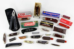 22. (22) Assorted Pocket Knives