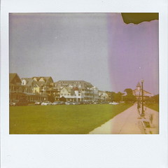 My mornings. (jill.marc) Tags: film polaroid nj og shore instant oceangrove greatauditorium oceanpathway ogcma
