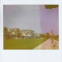 My mornings. (jill.marc) Tags: film polaroid nj og shore instant oceangrove greatauditorium oceanpathway ogcma