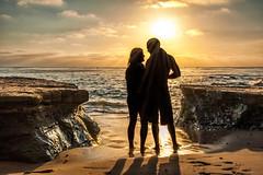 California Gold (mojo2u) Tags: ocean california sunset beach sandiego sunsetcliffs nikond700 nikon28300mm