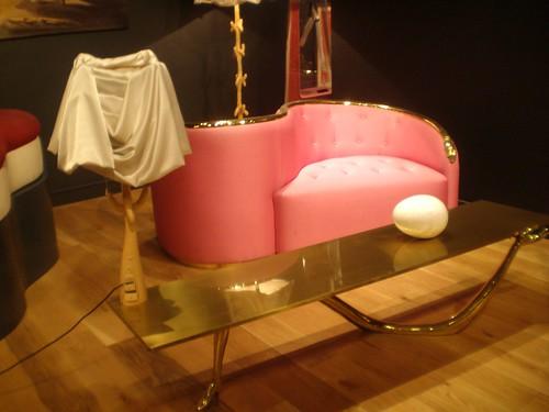 Salvador dalí 'lampe bracelli' (bracelli lamp), 'vis à vis sofa ...