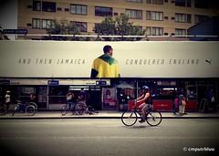 And Then Jamaica Conquered England (cmputrbluu) Tags: nyc newyorkcity noho jamaica olympics puma london2012 usainbolt