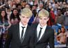 Jedward 'Keith Lemon the Film' World premiere held at the Odeon West End