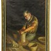 133. Original Painting of a Potter by Manuel Vincent Millan