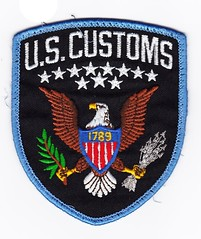 FED - U.S. Customs (OLD) (Inventorchris) Tags: old public us office peace cops state united unitedstatesofamerica police pd safety american badge cop service law enforcement patch emergency fed protection federal patches department officer services customs officers feds of