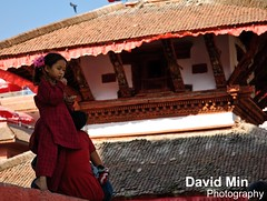 Kathmandu, Nepal - Daily Life @Durbar Square (GlobeTrotter 2000) Tags: world street travel nepal vacation mountain heritage tourism girl trekking trek children square site ruins asia child little hiking visit scene unesco explore kathmandu patan durbar bhaktapur thamel basantapur daylife katmandou