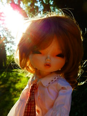 School Starts Soon... (Liz/Daifuku_Darling) Tags: school girl ball florence doll korean bjd artdoll jointed leekeworld