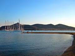 Antiparos (oue) Tags: sea beach canon island mediterranean greece cyclades antiparos  eikones elladas
