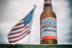 America: The Beer (Brendan.Illis) Tags: usa beach beer america island long flag lbi budweiser lbi2016