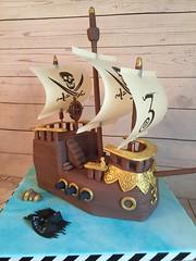 Happy birthday Lucas! 3 today #pirateship (planitcake) Tags: pirateship