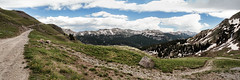 On the Trail (Scosanf) Tags: travel blue sky mountains green clouds canon landscape eos colorado offroad rockymountains ef2470mmf28lusm sanjuanmountains trailriding 6d topazlabs