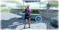 bella (Lise Button) Tags: vipcreations secondlife sl maitreya slink belleza blogger blonde truth hair shoes legs brigde avatar artistic art marketplace fashion style dress outfit