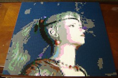 Terra Mosaic (ChocoBricks Customs) Tags: lego custom squareenix ff6 ffvi finalfantasyvi terrabranford
